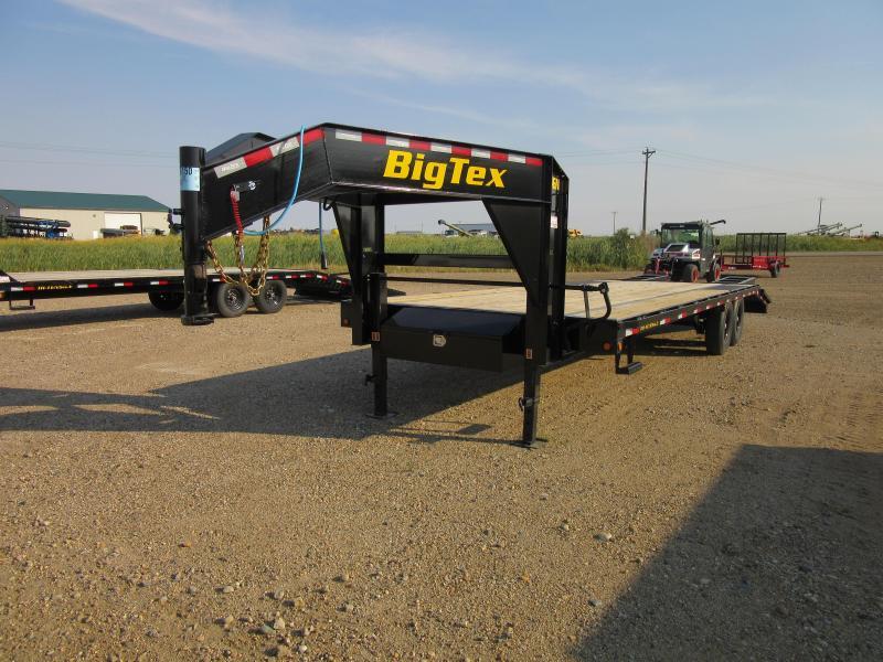 2022 Big Tex Trailers 14GN-22+5 Equipment Trailer