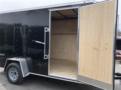 Wells Cargo 6 x 12 + 2' V Single Axle Enclosed Cargo Trailer