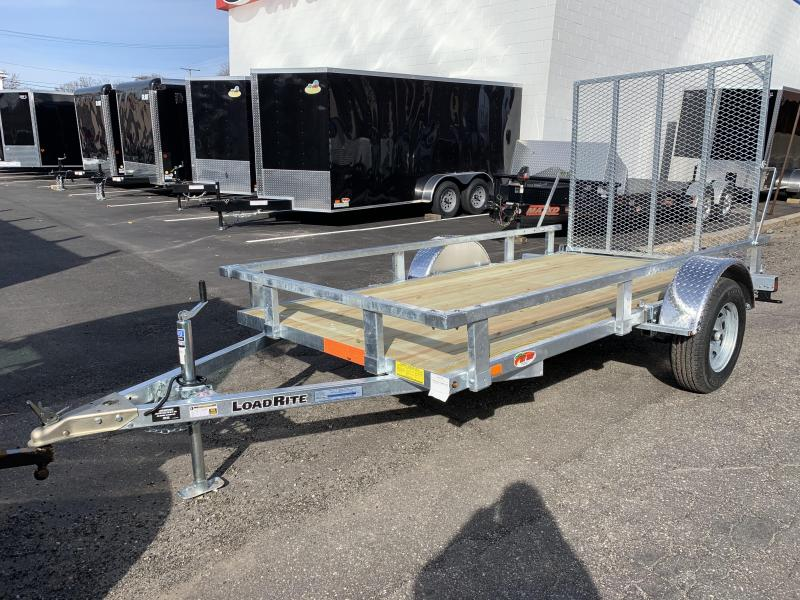 Load Rite 5.5x11 Galvanized Single Axle Utility Trailer