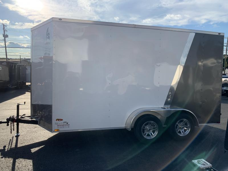 Used 2018 Spartan Cargo 7x14 Enclosed Cargo Trailer Extra Height