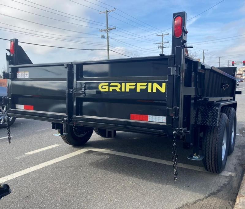 2021 Griffin GTT-716 Dump Trailer Telescopic Cylinder