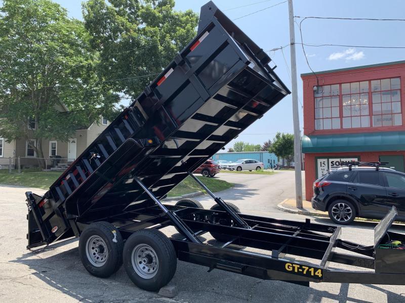 Griffin 83 x 14 14K Twin Cylinder Dump Trailer