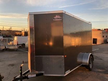 Rock Solid 6 x 12 + 2' V Single Axle Enclosed Cargo Trailer