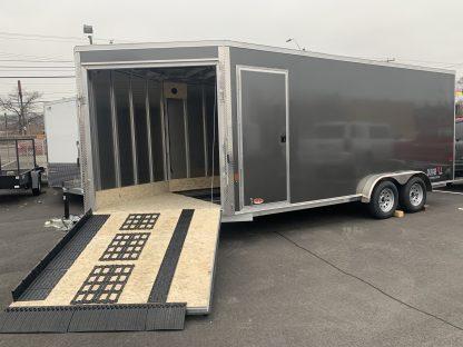 DuraBull Premier 7.5 x 18 + 5' V Enclosed Cargo / Snowmobile Trailer