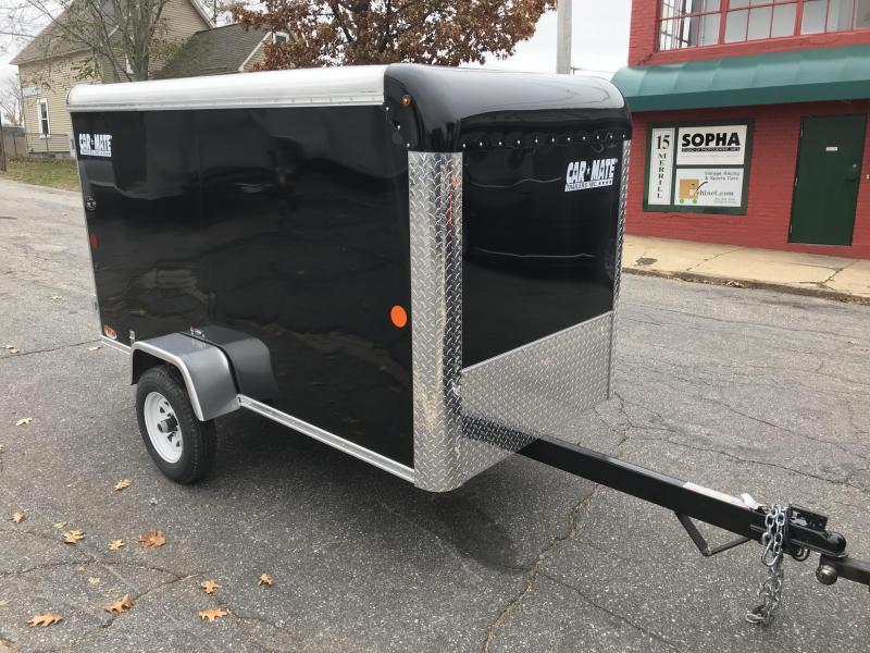 Car Mate 4 x 8 Single Axle Enclosed Cargo Trailer