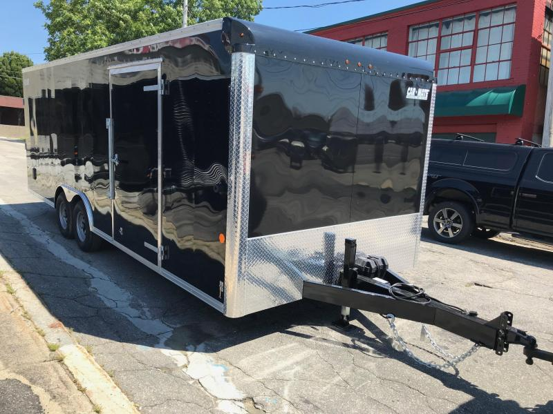Car Mate 8.5 x 22 Enclosed Car Hauler w/ 45 gal Fuel Tank Package