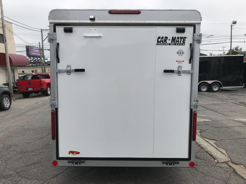 Car Mate Sportster 6 x 12 Single Axle Enclosed Cargo Trailer