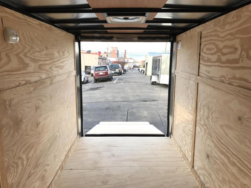 2021 Covered Wagon Trailers 7x12 Enclosed Cargo Trailer