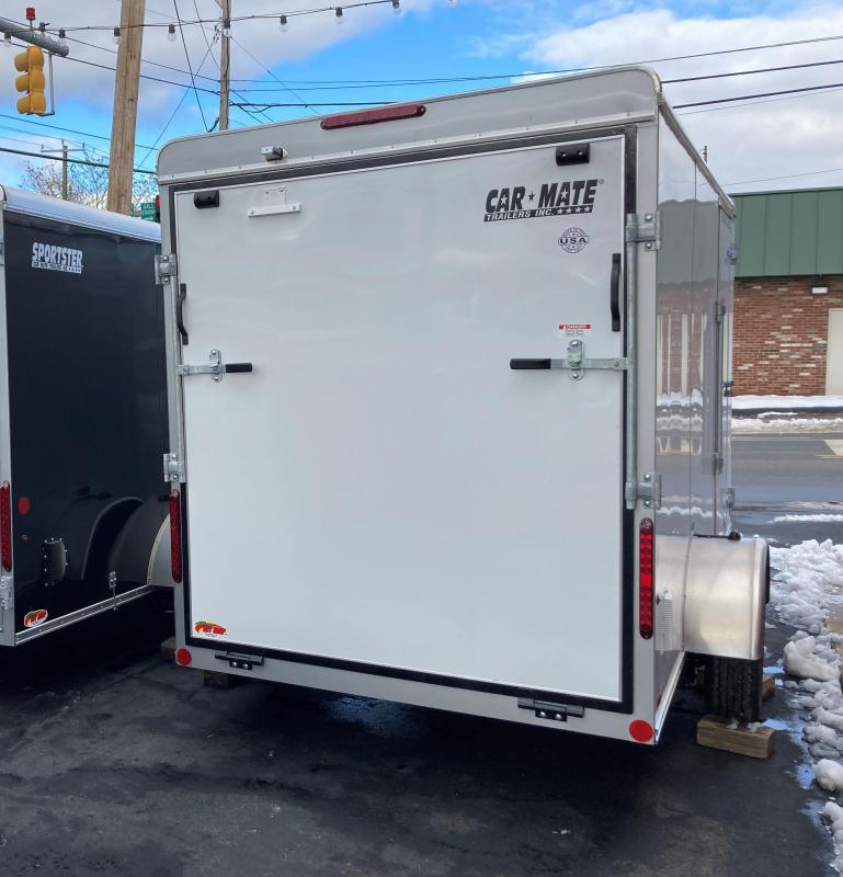 2021 Car Mate Trailers CM612LS Single Axle Enclosed Cargo Trailer