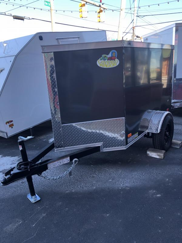 2021 Covered Wagon Trailers CW4X6SA Enclosed Cargo Trailer
