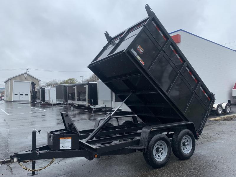 2020 Covered Wagon Trailers CWD6X10TA3 Dump Trailer