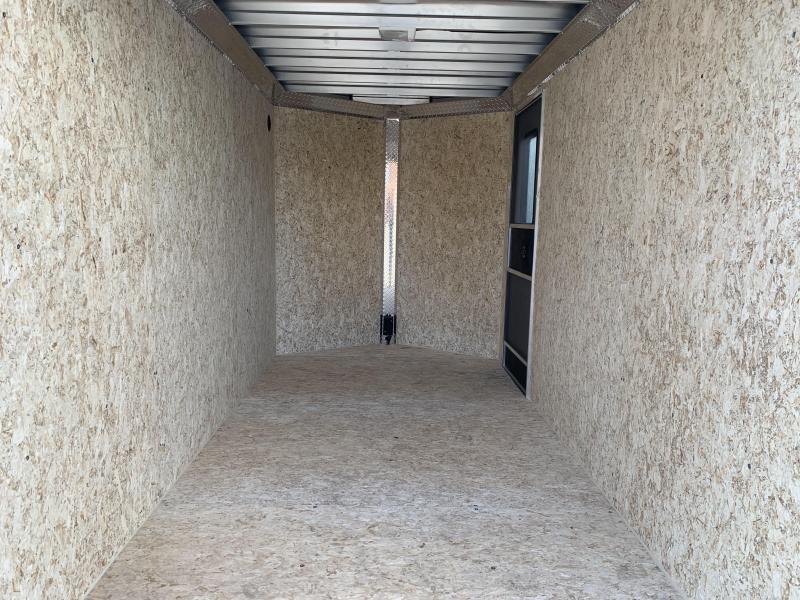 DuraBull 6 x 12 + 2' V Aluminum Enclosed Cargo Trailer w/ Ramp