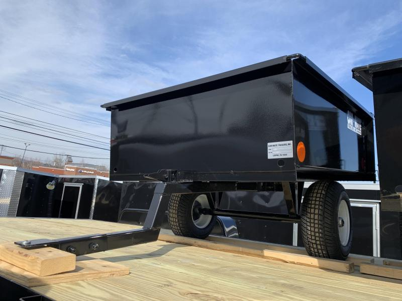 Car Mate 4 x 4 Solid Side Trailer w/ Tail Gate
