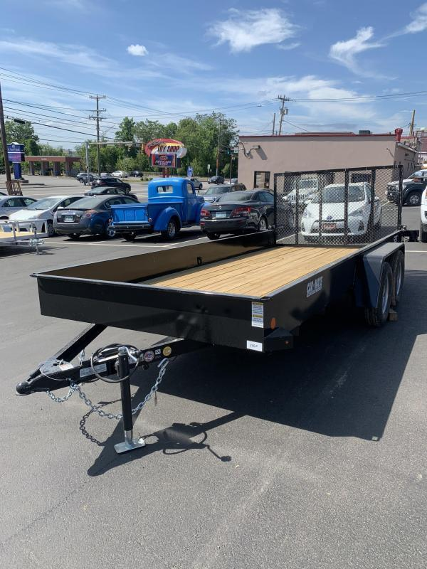Car Mate 6 x 16 Angle Iron HD Trailer Solid Sided