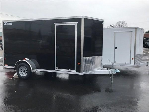 High Country 6 x 12 Aluminum Enclosed Cargo Trailer w/ Ramp