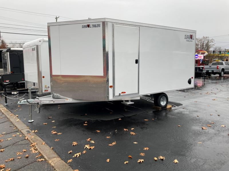 2021 Durabull Trailers Snowmobile Trailer DBMS 101X12SA 2tone