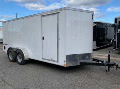Wells Cargo 7' x 16' + 2' V Enclosed Cargo Trailer