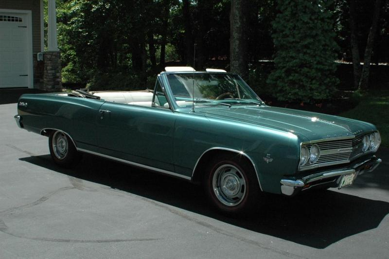 1965 Chevrolet Chevelle SS Convertible Car