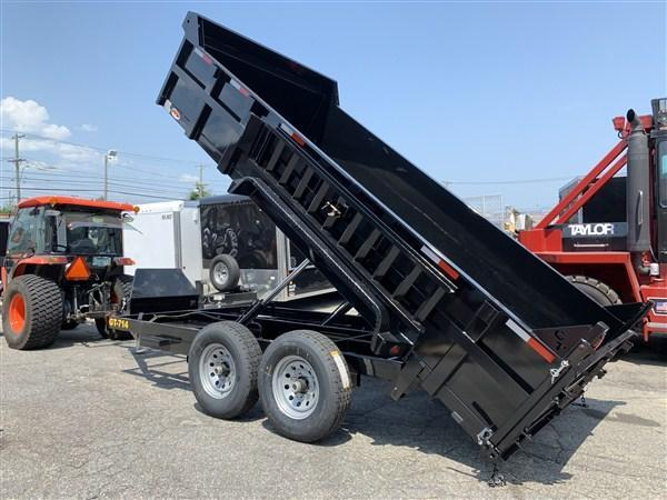 Griffin 83 x 16 14K Twin Cylinder Dump Trailer