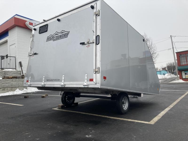 """High Country 101"""" x 12' Crossover Snowmobile Trailer"""