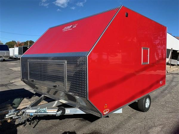 "DuraBull 101"" x 12' Crossover Snowmobile Trailer"