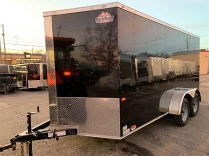Rock Solid 7 x 14 + 2' V Tandem Axle Enclosed Cargo Trailer