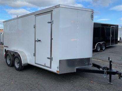 Wells Cargo 7' x 14' + 2' V Enclosed Cargo Trailer