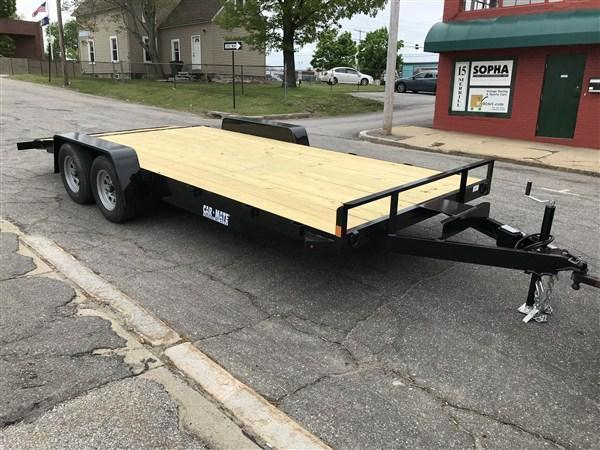 "Car Mate 82"" x 18' Open Car Hauler 7K"