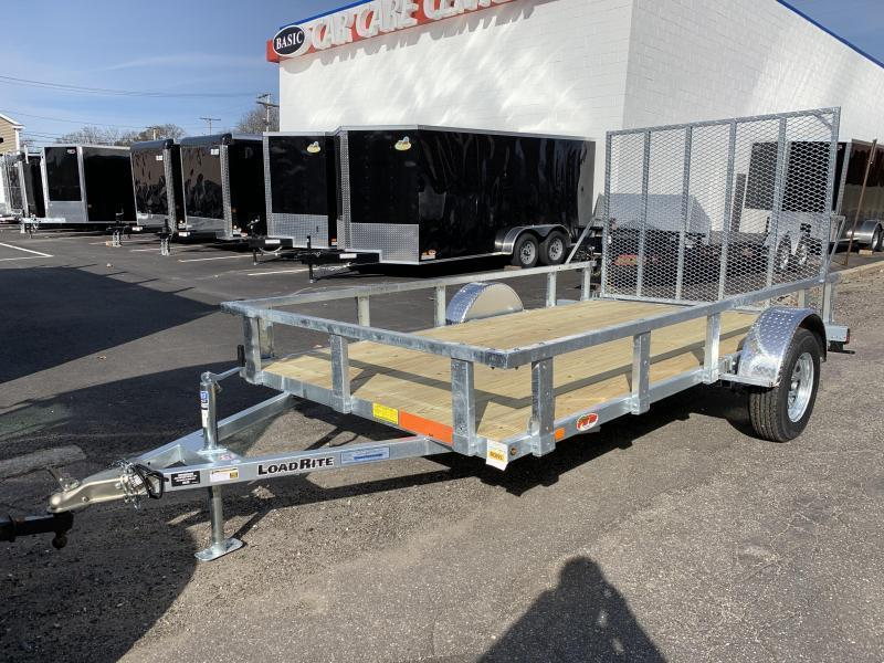 Load Rite 6x12 Galvanized Single Axle Utility Trailer