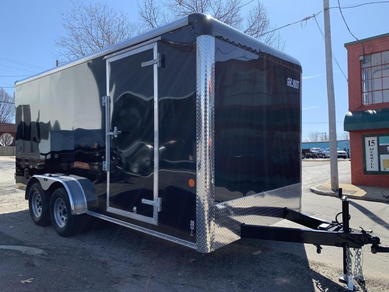 2020 Car Mate Trailers CM716CC HD 7 W Tandem Axle Custom Cargo Trailer Enclosed Cargo Trailer