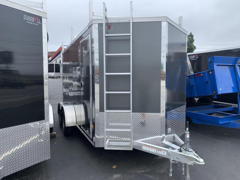 2022 Durabull Trailers DBET 7X14 Enclosed Cargo Trailer 9990 GVWR Contractor