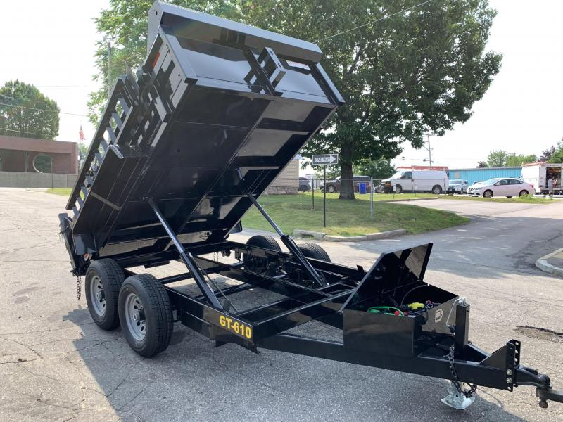 Griffin 6 x 10 10K Twin Cylinder Dump Trailer