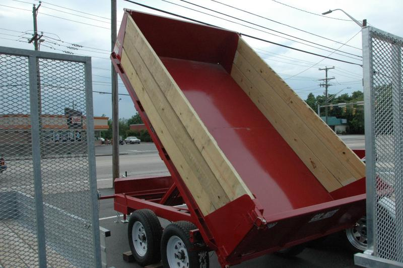Car Mate 6 x 10 7K Deckover Dump Trailer