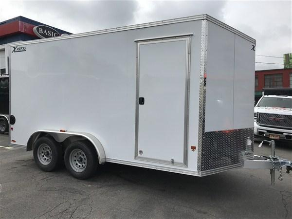 High Country 7.5 x 14 Aluminum Enclosed Cargo Trailer w/ Ramp