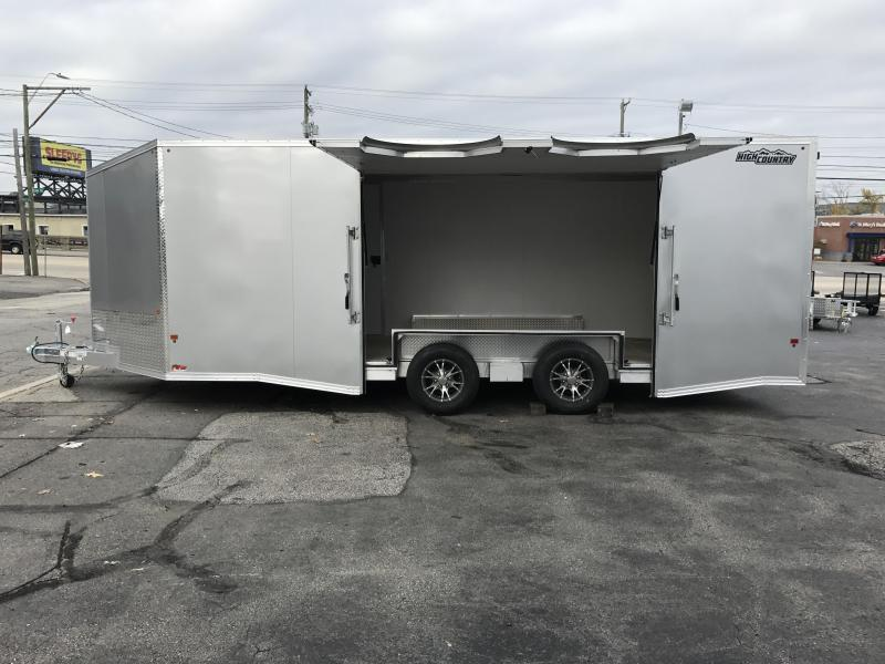 High Country 8.5 x 20 Aluminum Car Hauler 10K