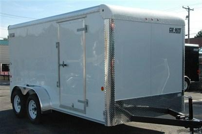 Car Mate Sportster 7 x 16 Enclosed Cargo Trailer