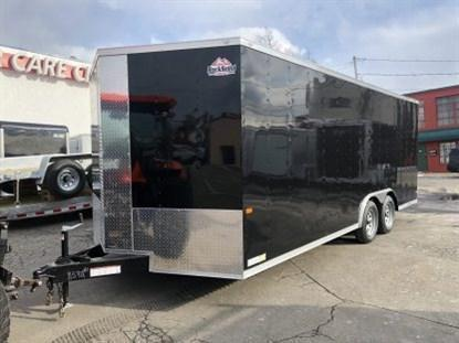 Rock Solid 8.5 x 24 + 2' V Enclosed Car Hauler