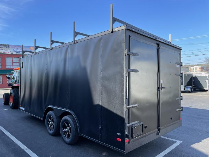 2021 Covered Wagon Trailers CW8518TA2 Enclosed Cargo Trailer