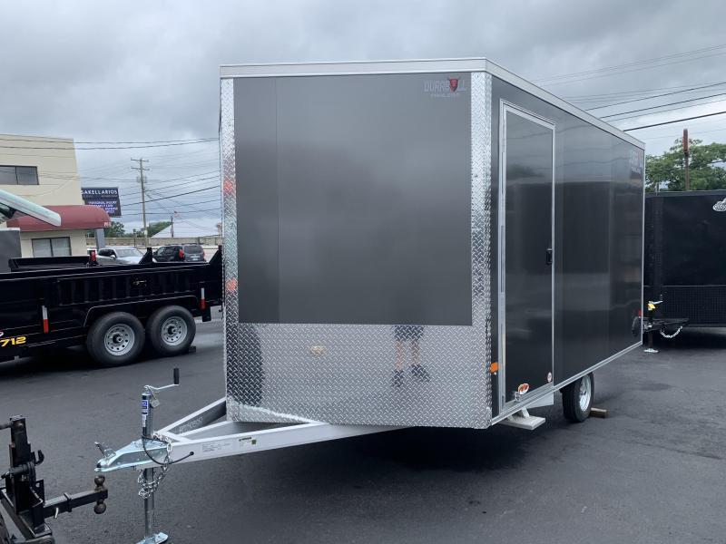 2021 Durabull Trailers Snowmobile Trailer 101X12SA DBMS Extra Height