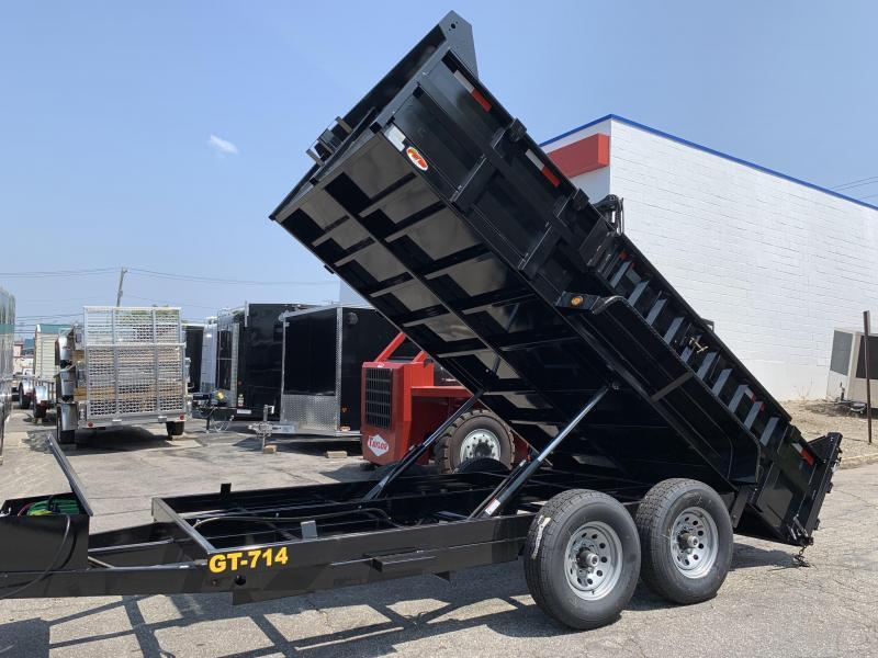 Griffin 83 x 14 14K Twin Cylinder Dump Trailer