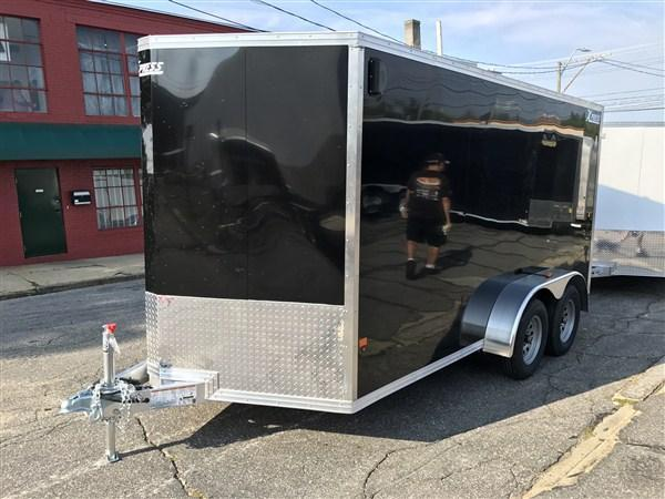 High Country 7 x 14 Aluminum Enclosed Cargo Trailer w/ Ramp