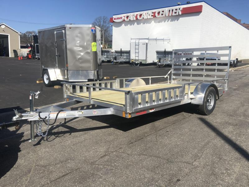 "2021 High Country HU 80""X14 Aluminum Utility Trailer"