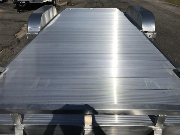 "High Country 80"" x 18' Aluminum Open Car Hauler w/ Extruded Aluminum Deck"