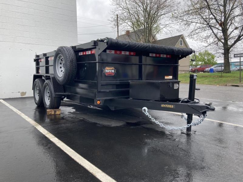 2021 Covered Wagon Trailers 6x10 Dump Trailer