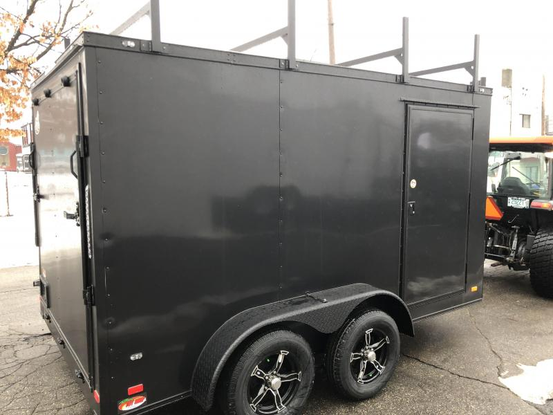 2021 Covered Wagon Trailers CW712TA Enclosed Cargo Trailer