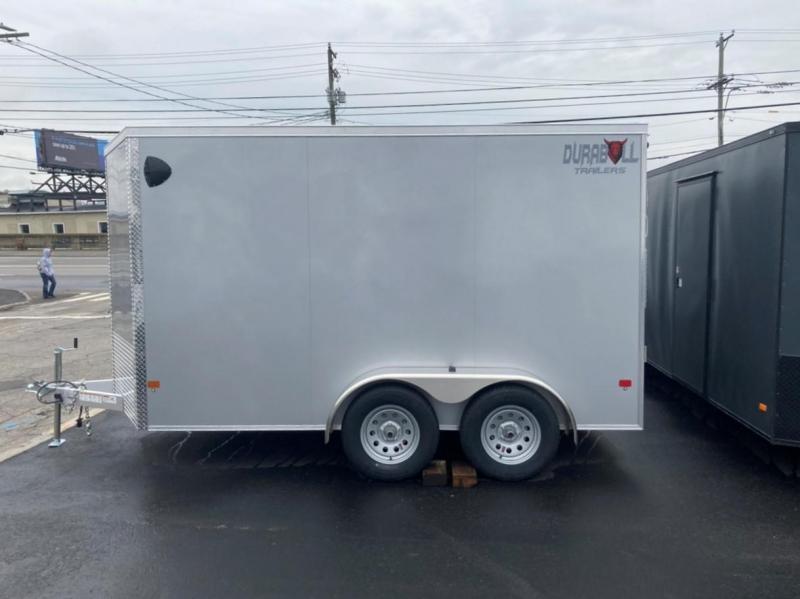 2021 Durabull Trailers 7x12 DBET7x12TA Enclosed Cargo Trailer