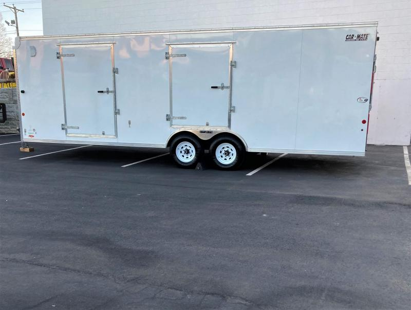 2016 Car Mate Trailers 8'x24' Car Hauler CM824C-CT Car / Racing Trailer