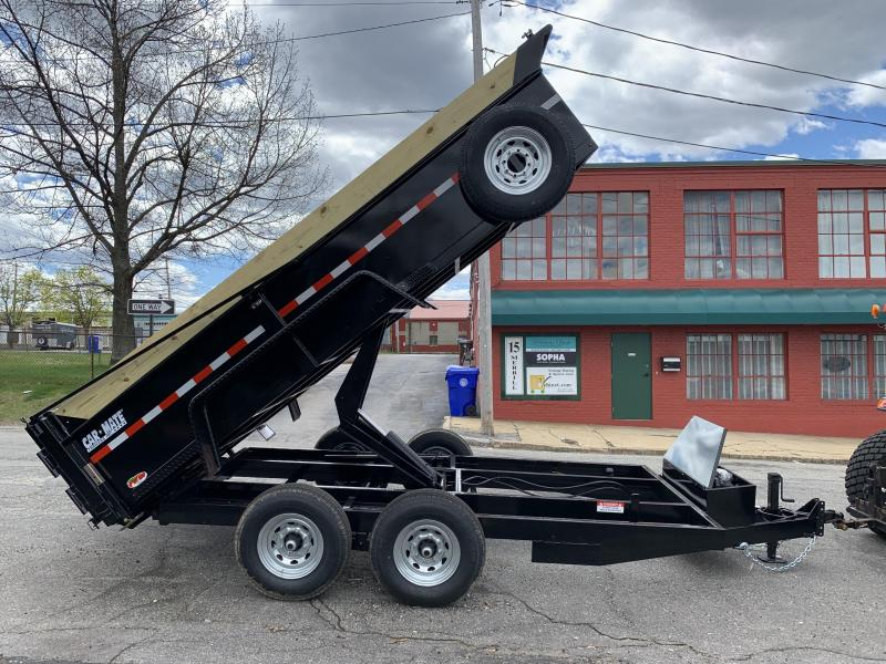 "Car Mate 80"" x 14' 14K Low Pro Contractor Dump Trailer"