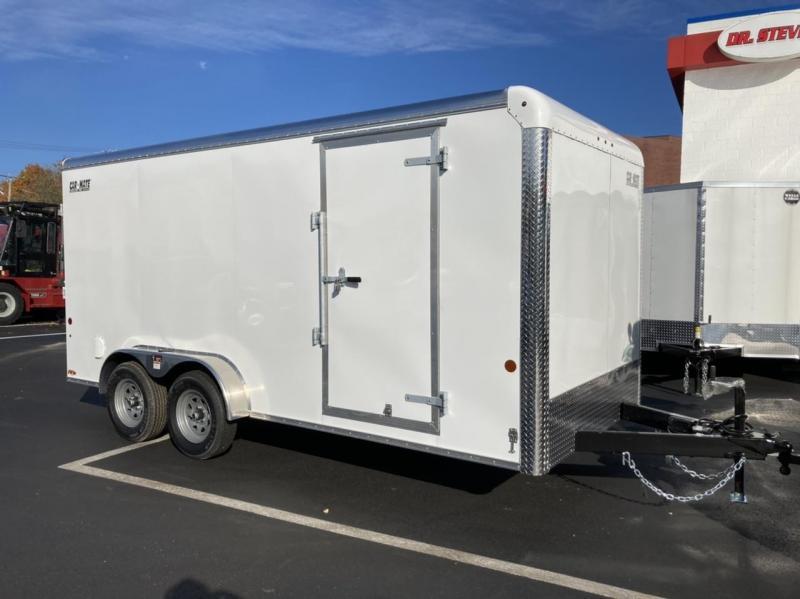 2022 Car Mate Trailers CM716CC-HD - 7'W Tandem Axle Custom Cargo Trailer Enclosed Cargo Trailer
