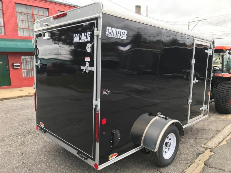 Car Mate 6 x 12 Single Axle Enclosed Cargo Trailer